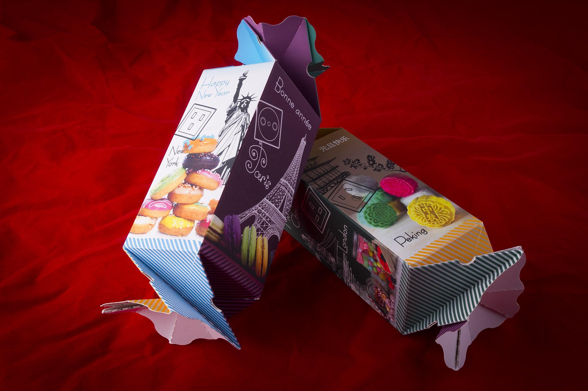 Как сделать красивую коробку в виде конфеты Краски дня